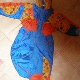 123. Комбинезон сине-оранжевый лыжный Commotion р. 98 новый