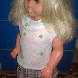 коллекционная большая винтажная кукла,куколка Сонни Гдр 60См германия винтаж куколка