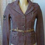 Жакет пиджак женский куртка хлопок 10 Feet р.42-44 4619