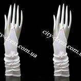 детские нарядные перчатки под платья