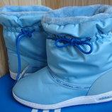 Продам дутики Adidas Neo.Оригінал. Голубі