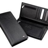 Кожаный мужской кошелек, портмоне, бумажник М48. Натуральная Кожа Ек71