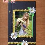 Блокнот Фотоальбом с пожеланиями и мечтами
