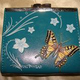 роскошный кошелек Shag wear экокожа идеал Louis Vuitton Burberry Gucci