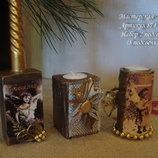 Подсвечники новогодние - оригинальный декор для вашего дома, стильный подарок