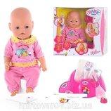 Пупс Baby Born BB 8001-3 функциональный
