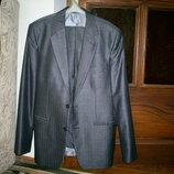 Деловой костюм р.50 на рост 182-188 см.