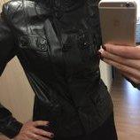 Куртка кожаная s/m в идеальном состоянии