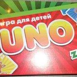 Настольная игра UNO классическая и детская животные