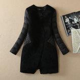 Демисезонная куртка-пальто. Реал. фото
