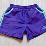 Яркие спортивные шортики для девочки. Внутри на подкладке. Lonsdale. Размер 9-10 лет.