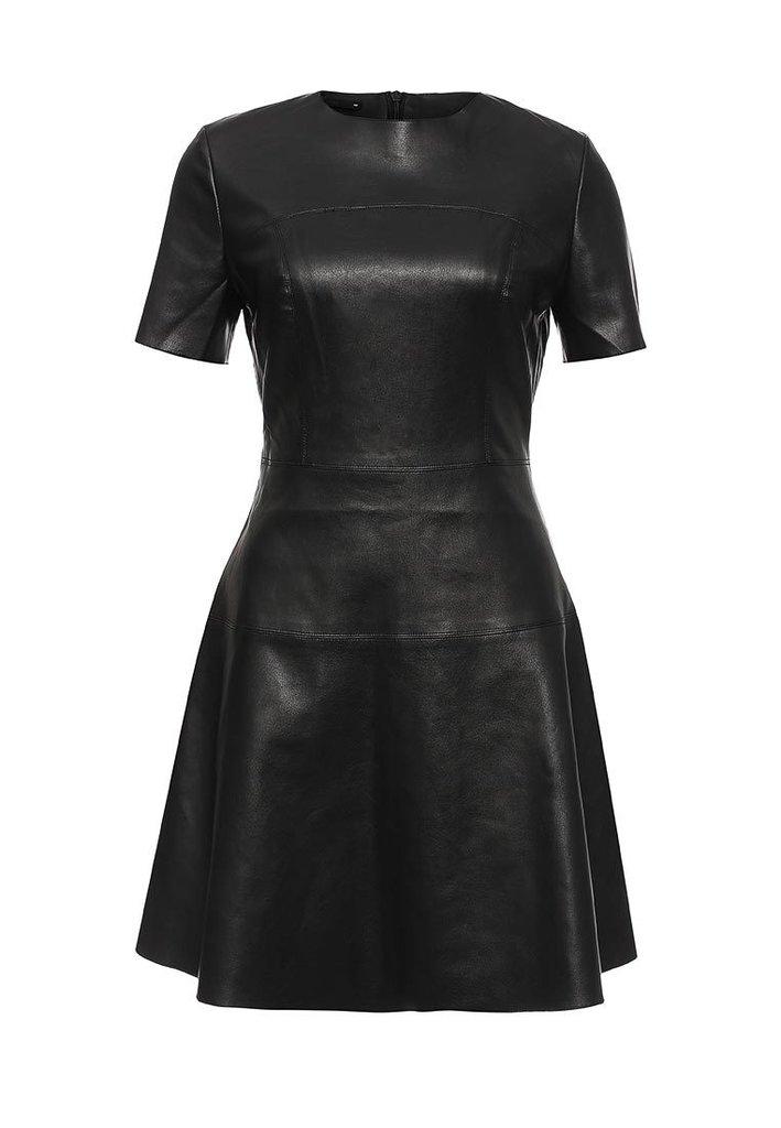 Остин кожаное платье