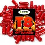 Мощное похудение с первого же дня применения T8 Red Fire - убийца лишнего жира