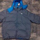 Мужской пуховик Adidas Basic down jacket O46604 Размер L 52-54