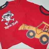 Летние фирменные футболки футболки-поло р-110/116