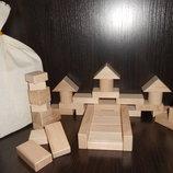 Деревянный конструктор Юный строитель, 36 дет. В наличии.
