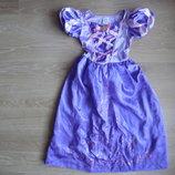 утреник рапунцель платье девочке 5-6 лет новогоднее утреник Disney Дисней новое праздничное