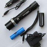 Фонарь тактический Police BL-8626 T6 диод T6