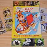 Раскраска Ноев ковчег, на английском языке