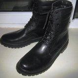 Ботинки 100% нат.кожа на меху Распродажа