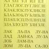 Автоматизация звуков 2 в 1/ чтение по слогам по методике Зайцева