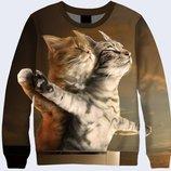 Коты Прикольные 3D Шикарный подарок