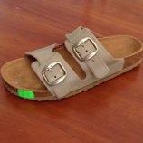 Ортопедические сандалии Т-25 бежевые с супинатором.