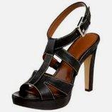 Босоножки черные кожа устойчивый каблук Calvin Klein оригинал из США р. 40