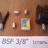 Рыбацкая гайка для Род Пода BSF 3/8 для вкручивания сигнализатора