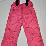Adidas р. 98 Полукомбинезон зимний теплый штаны комбез Оригинал