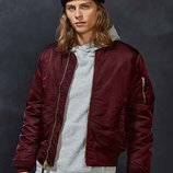 Мужская летная куртка MA-1 Slim Fit Alpha industries Альфа индастриз слим фит
