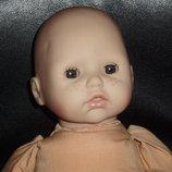 пупс малышка baby Annabell Brigitte Leman zapf сreation Германия оригинал номер клеймо 38 см