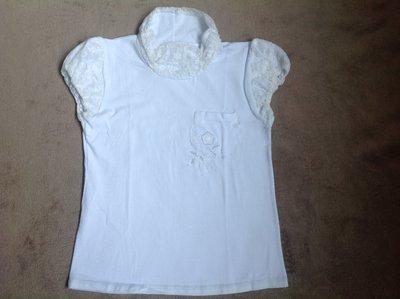 1d59127c875 Новые белые блузки с кружевом из гипюра р.98-122см  75 грн ...