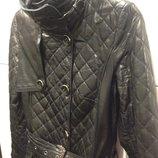 Пальто Lagerfeld кожа утепленное