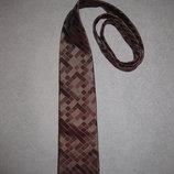 шикарный бордовый галстук Thomas Nash