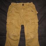 крутые котоновые штаны Gap на 1,5-2 года, карго