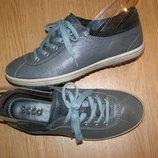 38 р - 24,7 см эксклюзив стильные ботинки от Ecco Кожа