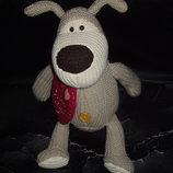 шикарная большая мягкая игрушка Собака Буфи Boofle Англия оригинал 23 см