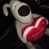 шикарная большая мягкая игрушка Собака Буфи Boofle Англия оригинал 26 см