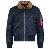 B-15 Slim Fit Alpha Industries мужская летная куртка слим фит Альфа индастриз