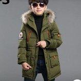 пуховик на мальчика ХИТ зимняя куртка для мальчика детский