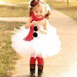 Карнавальный костюм Снеговик .