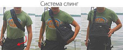 Рюкзак-Слинг Рыбzak 1.0 01151