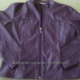 Куртка ветровка кожзам Новая, но без бирки