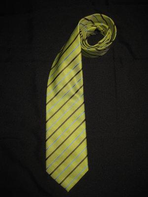 шикарный яркий галстук, салатовый