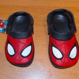 Новые кроксы Marvel для мальчика , размер 6 13 см