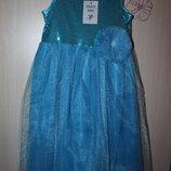 Нарядное платье с пайетками 122-128 раз Angels baby