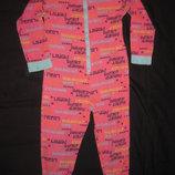 пижама слип хб на 7-8 лет, девочке