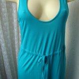 Платье женское летнее в пол вискоза бренд George р.50 5166