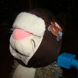 Очень классная шапочка H&M на 1,5-4 года р.92-104 см обьем 57 см